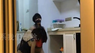 [自拍露臉]女女調教~兇狠狂弄清熟女!被綁起來玩到軟(有影)