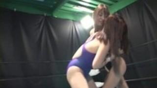 レズビアンレスリング2