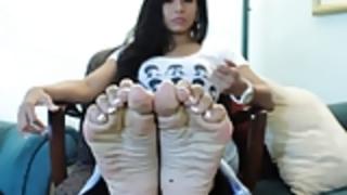 アメージング滑らかなアジアの靴底!