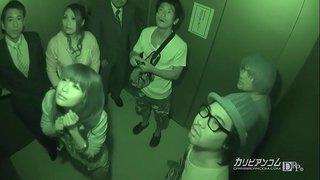 緊急停止!密室エレベーター輪姦 1